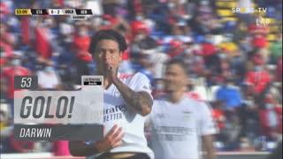 GOLO! SL Benfica, Darwin aos 53', Santa Clara 0-2 SL Benfica