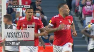 SL Benfica, Jogada, Otamendi aos 35'