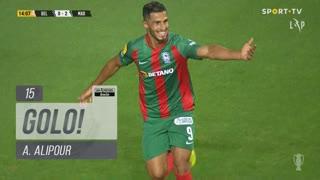 GOLO! Marítimo M., A. Alipour aos 15', Belenenses SAD 0-2 Marítimo M.
