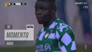 Moreirense FC, Jogada, Abdu aos 18'