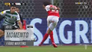 SC Braga, Jogada, Fábio Martins aos 45'+3'
