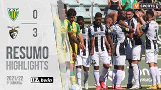 I Liga (3ªJ): Resumo CD Tondela 0-3 Portimonense