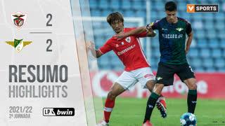 Liga Portugal bwin (2ªJ): Resumo Santa Clara 2-2 Moreirense FC
