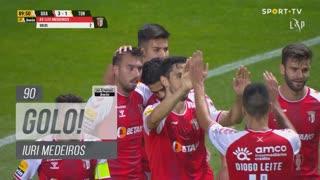 GOLO! SC Braga, Iuri Medeiros aos 90', SC Braga 3-1 CD Tondela