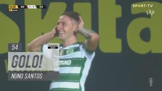 GOLO! Sporting CP, Nuno Santos aos 54', FC Arouca 1-2 Sporting CP