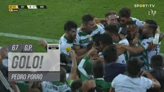 GOLO! Sporting CP, Pedro Porro aos 67', Estoril Praia 0-1 Sporting CP