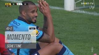 FC Vizela, Jogada, Schettine aos 45'+2'