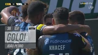 GOLO! CD Tondela, João Pedro aos 38', FC Vizela 0-1 CD Tondela