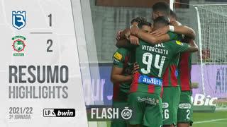 I Liga (2ªJ): Resumo Flash Belenenses SAD 1-2 Marítimo M.