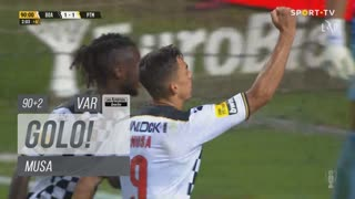 GOLO! Boavista FC, Musa aos 90'+2', Boavista FC 1-1 Portimonense