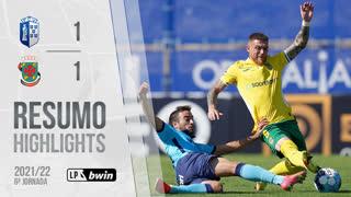 I Liga (6ªJ): Resumo FC Vizela 1-1 FC P.Ferreira
