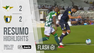 Liga Portugal bwin (5ªJ): Resumo Flash Moreirense FC 2-2 FC Famalicão