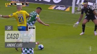 Moreirense FC, Caso, André Luís aos 36'