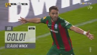 GOLO! Marítimo M., Cláudio Winck aos 89', Vitória SC 1-1 Marítimo M.