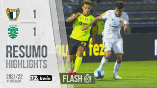 I Liga (4ªJ): Resumo Flash FC Famalicão 1-1 Sporting CP
