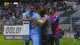 GOLO! Estoril Praia, André Franco aos 71', Boavista FC 1-1 Estoril Praia