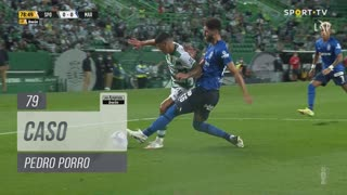 Sporting CP, Caso, Pedro Porro aos 79'