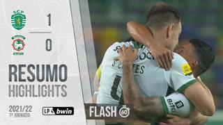 I Liga (7ªJ): Resumo Flash Sporting CP 1-0 Marítimo M.