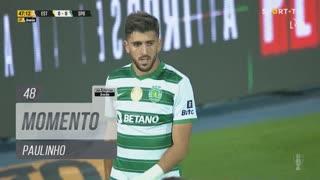 Sporting CP, Jogada, Paulinho aos 48'