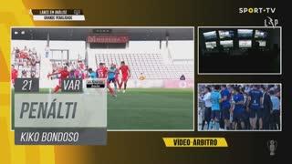 FC Vizela, Penálti, Kiko Bondoso aos 21'