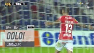 GOLO! Santa Clara, Carlos Jr. aos 90'+4', Santa Clara 2-1 Moreirense FC