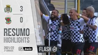 I Liga (2ªJ): Resumo Flash Boavista FC 3-0 FC P.Ferreira