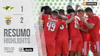 Liga Portugal bwin (1ªJ): Resumo Moreirense FC 1-2 SL Benfica