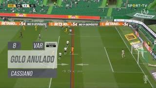 FC Vizela, Golo Anulado, Cassiano aos 8'