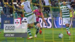FC Arouca, Caso, Arsénio aos 45'+1'