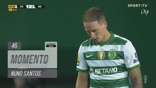 Sporting CP, Jogada, Nuno Santos aos 46'