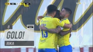 GOLO! FC Arouca, Bukia aos 8', Marítimo M. 0-1 FC Arouca