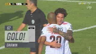 GOLO! SL Benfica, Darwin aos 62', Santa Clara 0-4 SL Benfica