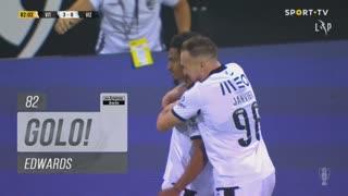 GOLO! Vitória SC, Edwards aos 82', Vitória SC 3-0 FC Vizela