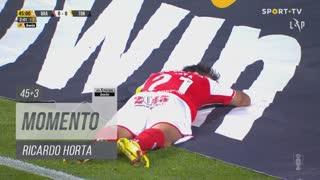 SC Braga, Jogada, Ricardo Horta aos 45'+3'