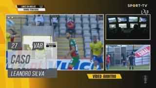 FC Arouca, Caso, Leandro Silva aos 27'