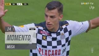 Boavista FC, Jogada, Musa aos 24'