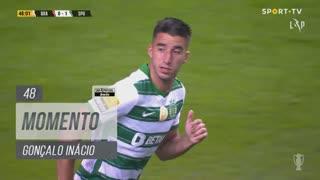 Sporting CP, Jogada, Gonçalo Inácio aos 48'