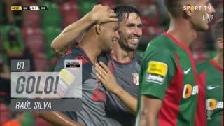 GOLO! SC Braga, Raúl Silva aos 61', Marítimo M. 0-1 SC Braga