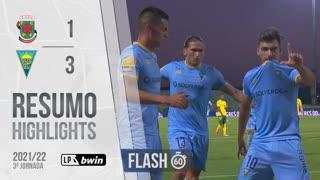 I Liga (3ªJ): Resumo Flash FC P.Ferreira 1-3 Estoril Praia