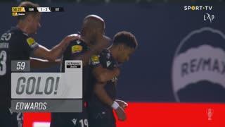 GOLO! Vitória SC, Edwards aos 59', FC Famalicão 1-2 Vitória SC