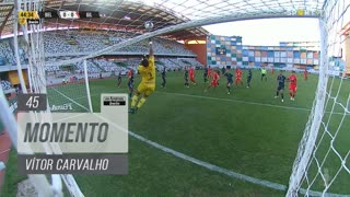 Gil Vicente FC, Jogada, Vítor Carvalho aos 45'