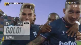 GOLO! Belenenses SAD, Safira aos 83', Belenenses SAD 1-0 Gil Vicente FC