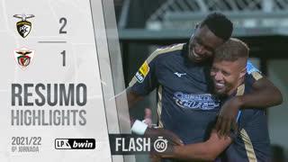 Liga Portugal bwin (6ªJ): Resumo Flash Portimonense 2-1 Santa Clara