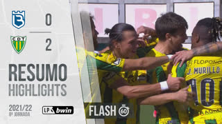 Liga Portugal bwin (8ªJ): Resumo Flash Belenenses SAD 0-2 CD Tondela