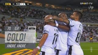 GOLO! Vitória SC, André André aos 70', Vitória SC 1-0 FC Vizela