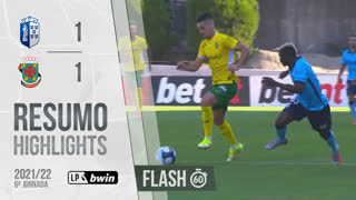 I Liga (6ªJ): Resumo Flash FC Vizela 1-1 FC P.Ferreira
