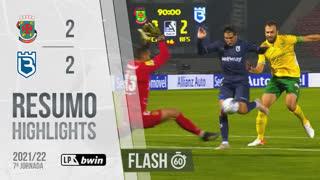 I Liga (7ªJ): Resumo Flash FC P.Ferreira 2-2 Belenenses SAD