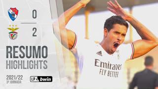 Liga Portugal bwin (3ªJ): Resumo Gil Vicente FC 0-2 SL Benfica