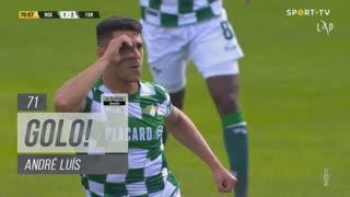 GOLO! Moreirense FC, André Luís aos 71', Moreirense FC 2-2 FC Famalicão