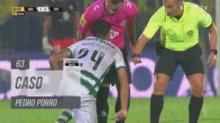 Sporting CP, Caso, Pedro Porro aos 63'